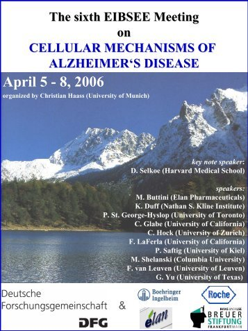 April 5-8, 2006 - Eibsee Meeting
