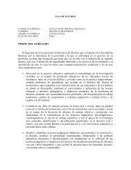 REGISTRO DE PLAN DE ESTUDIOS
