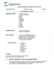 Meeting Minutes 16 Jan 2013 - Niagara Peninsula Conservation ...