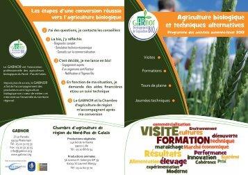 Agriculture biologique et techniques alternatives - A PRO BIO