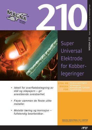 Super Universal Elektrode for Kobber- legeringer - abema