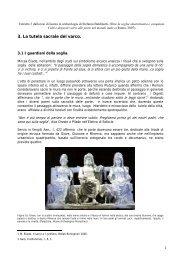 mappatura delle caratterizzazioni iconografiche - Margine, Soglia ...