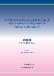 programma preliminare Chieti 6-8 maggio ... - Biomedia online