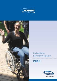 Seminarprogramm 2013 - Invacare