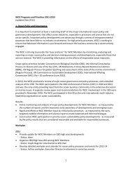 WOC Program 2011-2013 - World Ocean Council