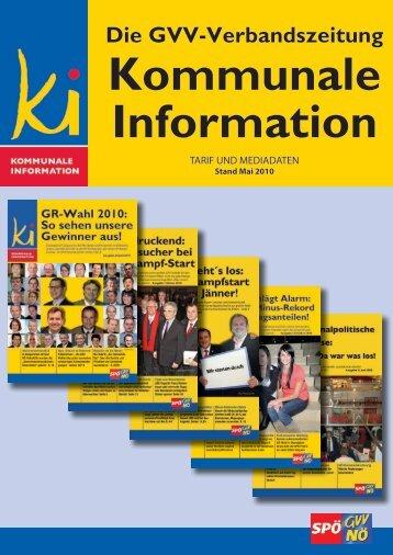 Die GVV-Verbandszeitung - SPÖ Gemeindevertreterverband NÖ