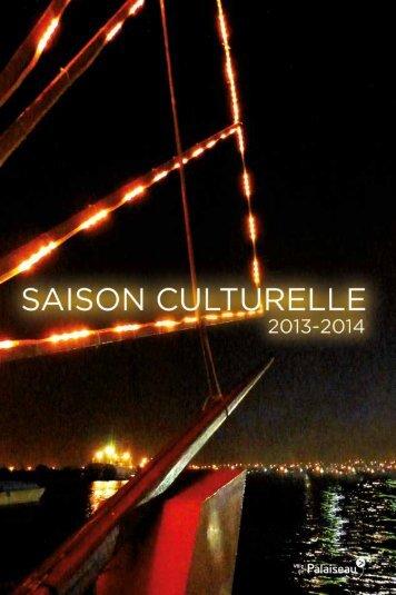 Saison culturelle 2013-2014 - Ville de Palaiseau