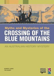 Myths and Mysteries of the - Australian History Mysteries