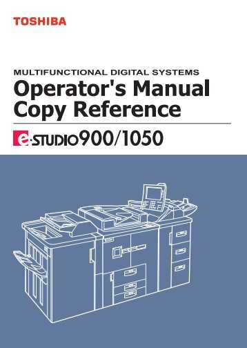 Copy Reference Guide - Zoom Imaging Solutions, Inc