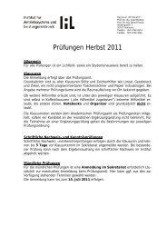 Prüfungen Herbst 2011 - Institut für Antriebssysteme und ...