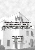 MANUAL DE PROCEDIMIENTOS DE LABORATORIO ... - BVS Minsa - Page 2