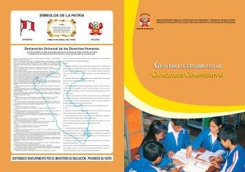Guía para el Desarrollo de Capacidades Comunicativas