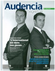 Lire l'article - ALTIOS International