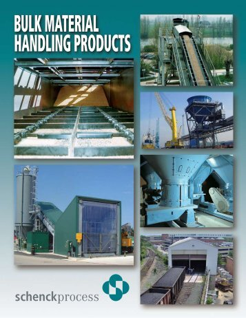 Bulk Material Handling Products Brochure - Schenck AccuRate