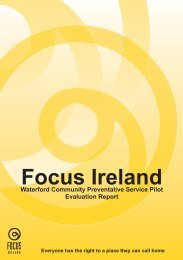 Download Waterford CPS Evaluation report here - Focus Ireland