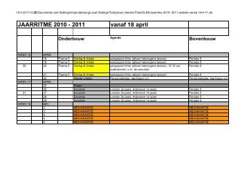 Jaarritme 2010- 2011 website versie 14-4-11 - IJburg College