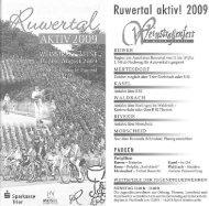 Programm Ruwertal Aktiv