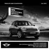 Download Preisliste - MINI.at