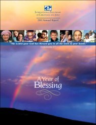 Blessing - International Fellowship of Christians and Jews