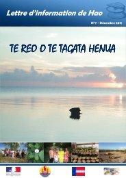 TE REO n°7 - Haut-Commissariat de la république en Polynésie ...