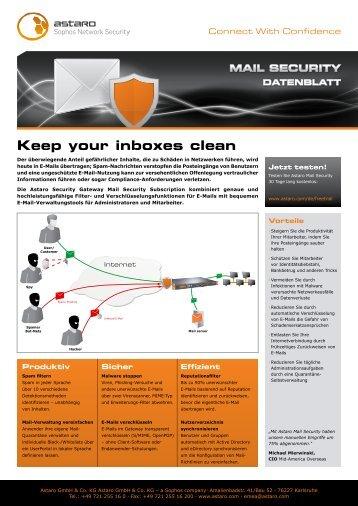 Astaro Mail Security