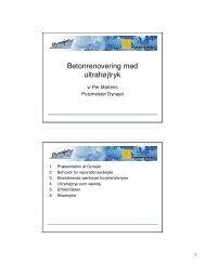 (Microsoft PowerPoint - Betonrenovering med ultrah\370jtryk.ppt)
