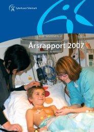 Årsrapport 2007 - Sykehuset Telemark