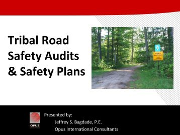 Tribal Road Safety Plans