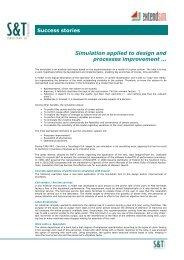 Simulation applied to process improvement - Sytsa