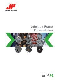 Pompe Centrifughe Johnson Pump