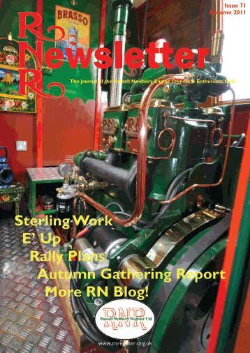 Issue 71, Autumn 2011 - Russell Newbery Register