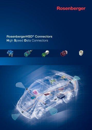 RosenbergerHSD®-Steckverbinder