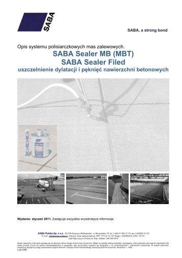 SABA Sealer MB (MBT) SABA Sealer Filed