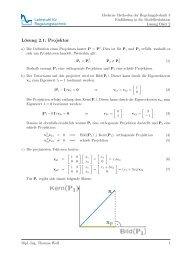 Lösung 2.1: Projektor