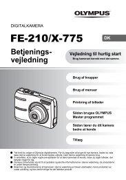 FE-210/X-775 - Olympus
