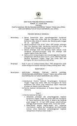 keputusan presiden republik indonesia nomor 47 tahun 2004 ...