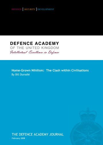 security | development - Defence Academy of the United Kingdom