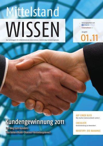 Kundengewinnung 2011 - Unternehmer.de