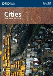 Cities: The new frontier - Urban LandMark