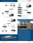 Bosch Video Over IP Product Guide 2011 - Use-IP - Page 3
