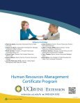 Human Resources Management Certificate Program - UC Irvine ... - Page 6