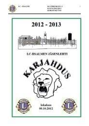lokakuu 2012 - Suomen Lions-liitto ry