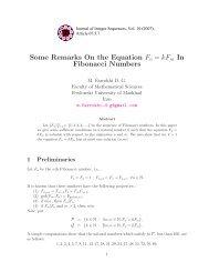 Some Remarks On the Equation Fn = kF Fibonacci Numbers