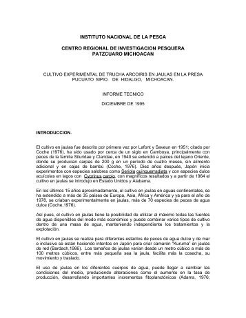 INSTITUTO NACIONAL DE LA PESCA - Inapesca