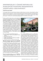 brownfieldy v české republice - Ústav územního rozvoje