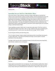 Immediate Success with New CD82 Refiner Plates - J&L Fiber ...