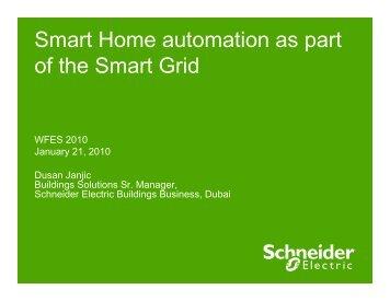 Beyond smart home automation - Schneider Electric