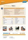 Rail Tile Saw TR201 E - Norton Construction Products - Page 2