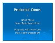 Protected Zones
