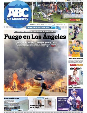 Fuego en Los Ángeles - Periodicoabc.mx
